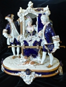 "Фарфоровая статуэтка "" Баронесса Duchon"""