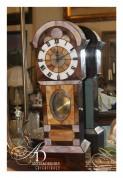 Часы ( стеклянная мазайка )