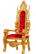 Трон кресло де Люкс цена по запросу.