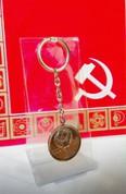 Орегинальный брелок удачи к деньгам, монета 1 рубль 1941-1945г