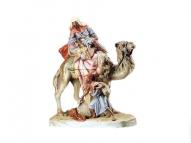 """Большая фарфоровая статуэтка """" Араб"""""""