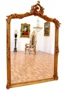 Настенное зеркало стиль Рококо