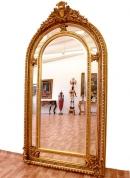 Большое зеркало в стиле Людовика