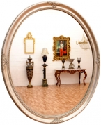 Зеркало овальное Glamour