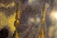 Картина, вышивка крестиком.