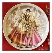 "Настенная тарелка ""Праздник Риги"""