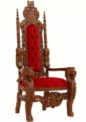 Председательский трон цена по запросу.
