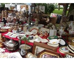 Bazaar senlietas Ikšķilē