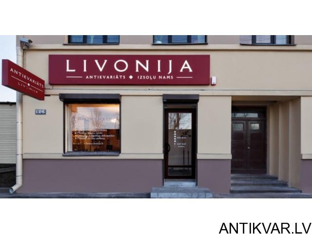 """Antikvariāts / Art Gallery """"Livonia"""" - 2/2"""