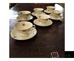 1900 gads. Tējas servīze  WALBRZYCH
