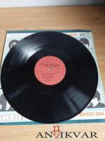 """Vinila plate - The beatles """"A hard day's night"""" (1986)"""