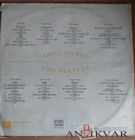 "Vinila plates - The Beatles ""Love Songs"""