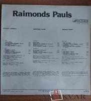 """Vinila plate - Raimonds Pauls """"Estrādes dziesmas"""" (1983 - 1984)"""