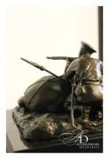 """Бронзовая статуэтка """"Донской казак"""""""