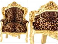 Барокко трон Leopard цена по запросу.