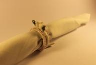 Фарфоровый набор колец для салфеток