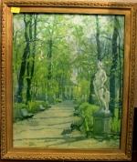 """Картина """"Летний сад Весной"""" репродукция"""