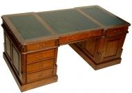 Стол кабинетный из красного дерева