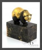 """Бронзовая статуэтка """"Панда"""""""