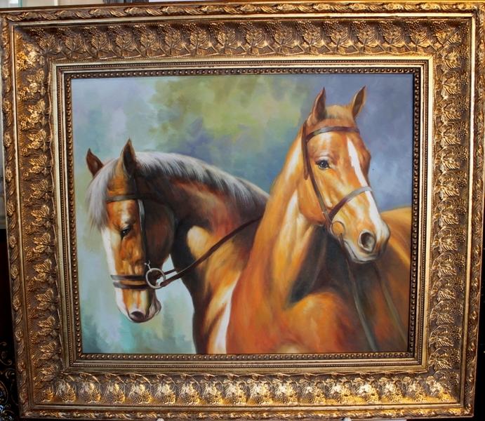 """Картина """" Лошади"""" - 2/3"""