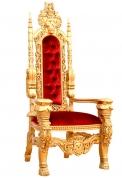 """Председательский трон """" Череп короля"""" цена по запросу."""