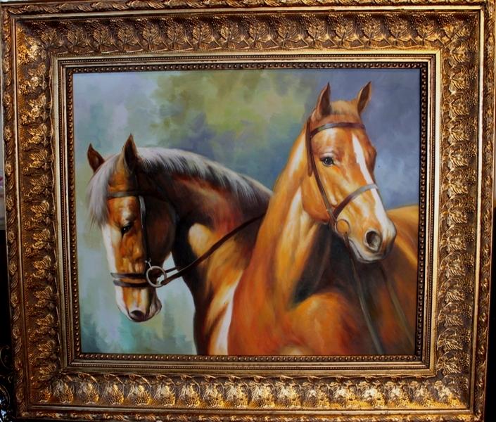 """Картина """" Лошади"""" - 3/3"""