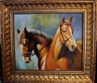 """Картина """" Лошади"""""""