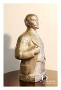 """Статуэтка из чугуна """"В.И.Ленин"""" Н.Теплов 1977 г. - Attēls 3/5"""