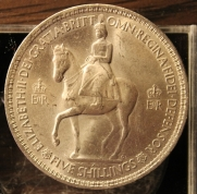 Юбилейная монета Англии
