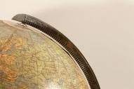 Глобус стеклянный с подсветкой
