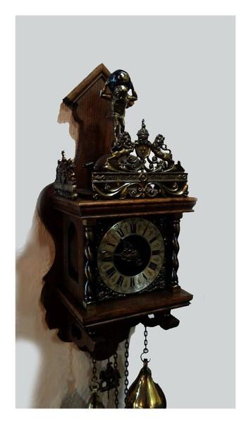 """Настенные Часы """"WUBA Vintage Antique Zaanse Clock"""" - 1/3"""