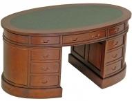 Кабинетный овальный стол