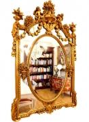 Великолепное зеркало с ангелами