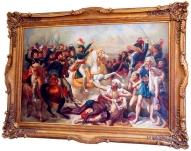 """Картина """"Наполеон у пирамид с речью к войскам"""""""