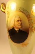 """Фарфоровая ваза """"Rosenthal"""" Franz Liszt, Hungarian composer"""